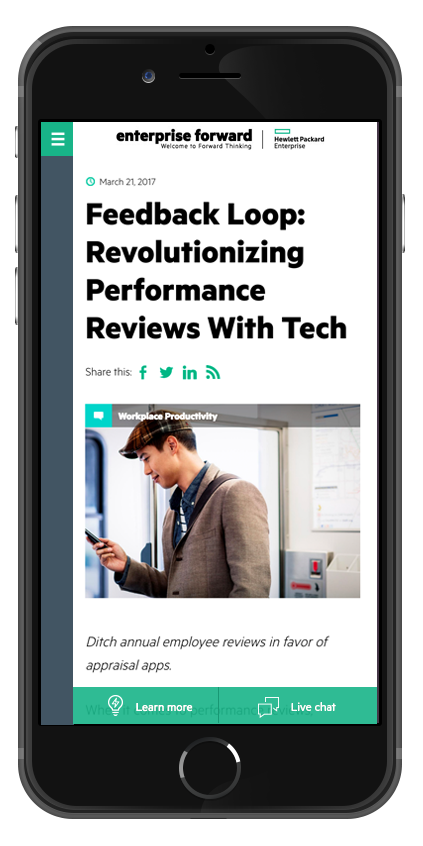 HPE Mobile Article